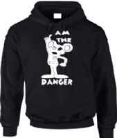 I AM THE DANGER HOODIE - INSPIRED BY DANGER MOUSE PENFOLD